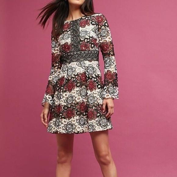 82095dba2ec Daya Bell-Sleeve Dress by ML Monique Lhuillier
